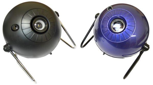 """Благодаря окраске синий металлик планетарий HomeStar """"Classic"""" выглядит более эффектно, нежели модель """"Pro2"""" с её матовым черным корпусом"""