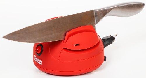 """Электрическая ножеточка SITITEK """"Хозяйка 40М"""" рассчитана на заточку даже больших ножей в стиле сантоку"""