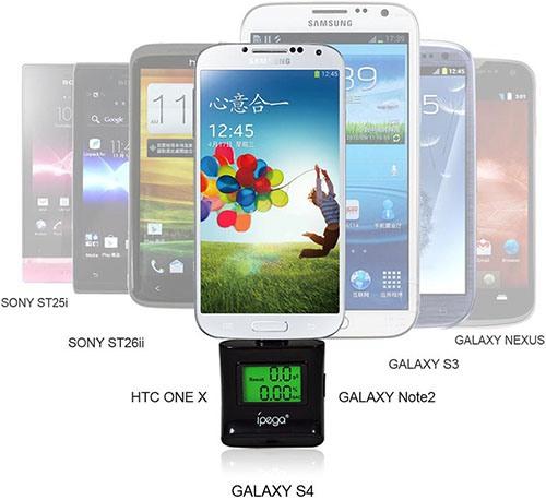 """Цифровой алкотестер IPEGA совместим с многими современными смартфонами """"Sony"""", """"Samsung"""" и """"HTC"""" (для увеличения нажмите на фото)"""