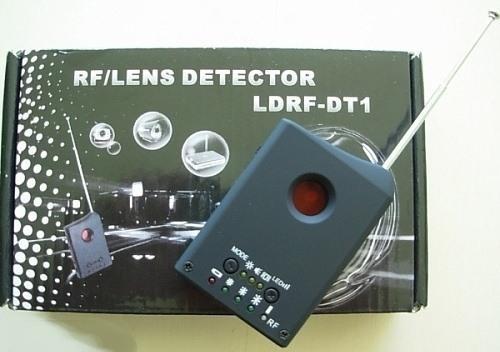 """Обнаружитель камер """"LD RF1"""" и упаковочная коробка"""