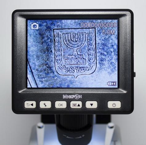 Управляющая панель микроскопа Микрон LCD
