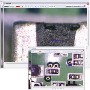 Микроскоп Микрон LCD самостоятельно определяет размеры предметов