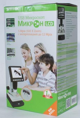 Упаковка микроскопа