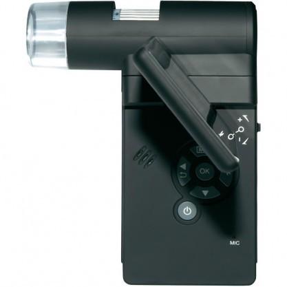 Помимо фокуса и зума, в портативном микроскопе Микрон Mobile регулируется положение экрана