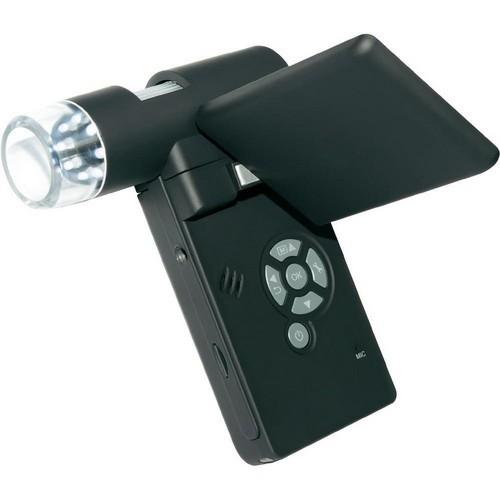 Вокруг объектива камеры микроскопа Микрон Mobile смонтировано 8 светодиодных осветителей
