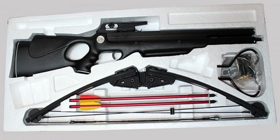 """Блочный арбалет """"MK-250"""": комплект поставки"""