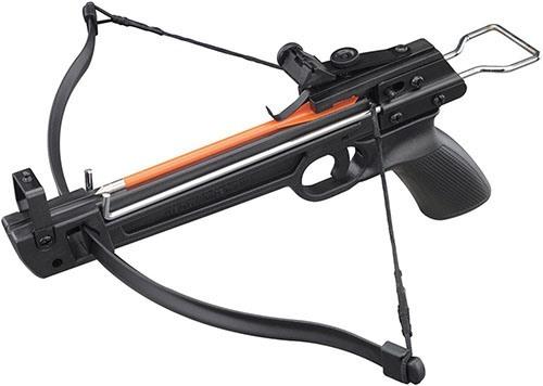 """Корпус и рукоятка арбалета """"MK-50A1/5PL"""" изготовлены из пластика, а все детали, отвечающие за стрельбу (включая плечи), — из прочной стали (нажмите на фото для увеличения)"""