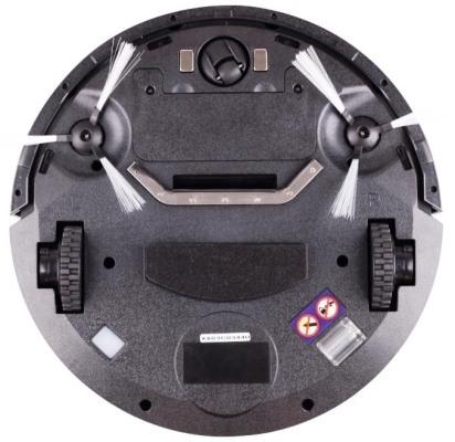 """Робот-пылесос """"Robo-sos X500"""" оборудован двумя боковыми щетками, которые легко чистить"""