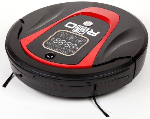 Робот-пылесос Robo-sos LR-450 выполнен в лучших традициях современной бытовой техники