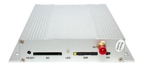"""Боковая панель сигнализации """"STRAZH SOKOL MMS PRO"""" центрального блока с разъемами для SIM-карты и флеш-памяти"""
