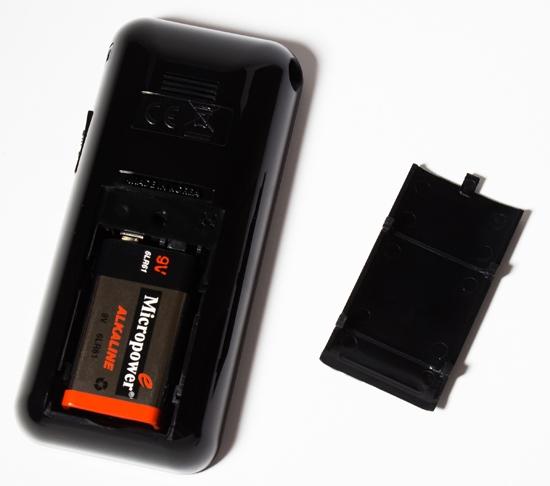 Батарейный отсек алкотестера