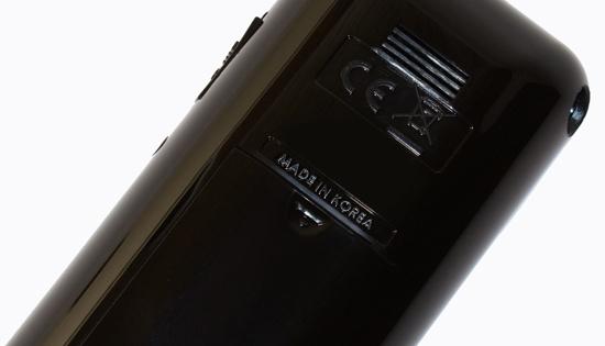 """Алкотестер """"SITITEK СА2010"""" — качественное изделие корейского производства (об этом свидетельствует и нанесенная маркировка)"""