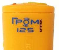 """На корпус оригинальной модели  """"Sititek Гром-125"""" нанесено ее название и логотип"""