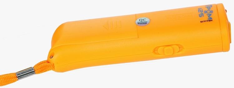 """Благодаря ремешку, Вы можете носить отпугиватель """"SITITEK ГРОМ-125"""" на запястье — т.е. он всегда будет """"под рукой"""""""