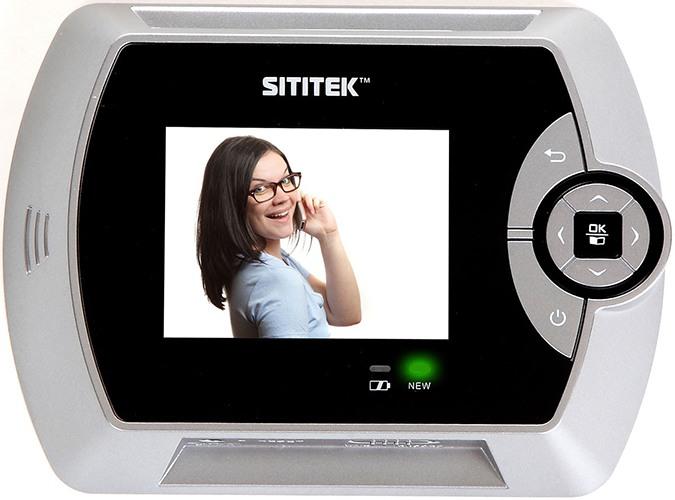 """Внутренняя часть видеоглазка SITITEK """"PentaLux"""" (нажмите на изображение, чтобы увеличить)"""