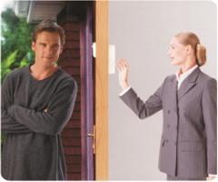 """С видеоглазком SITITEK """"PentaLux"""" Вы всегда будете знать, кто постучался в Вашу дверь!"""