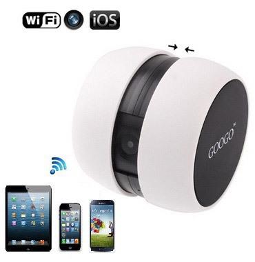"""Камера """"Googo"""" работает со мобильными устройствами на базе iOS"""