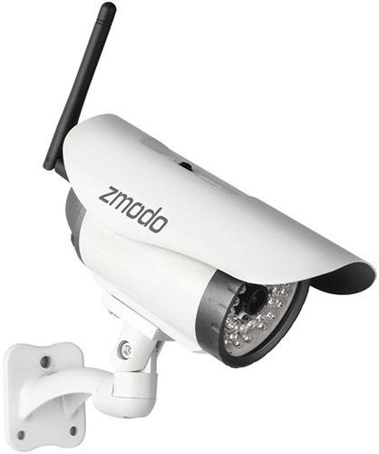 """Камеры из видеокомплекта Wi-Fi """"Zmodo Беспроводной"""" не требуют кабельных соединений с регистратором, что значительно упрощает монтаж и эксплуатацию системы"""