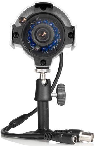 """Камеры из видеокомплекта """"Zmodo Базовый"""" соединяются с регистратором посредством видеокабеля, что обеспечивает высокую надежность связи"""