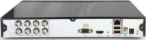 Разъемы на задней панели регистратора из видеокомплекта