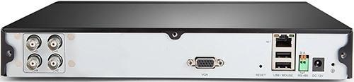 """Разъемы на задней панели регистратора из видеокомплекта """"Zmodo Улица"""" (нажмите на изображение, чтобы увеличить)"""